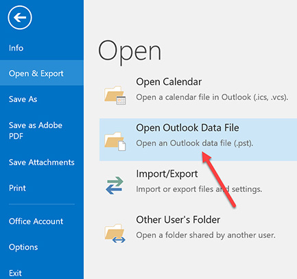 UCLA Knowledge Base : Importing Calendar Items into Outlook 2016
